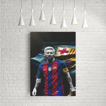 LEO MESSI ARTWORK POSTERS