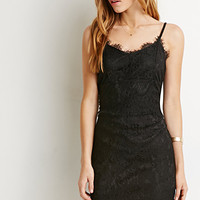 Eyelash Lace Cami Dress