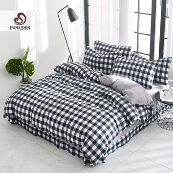 Cool Parkshin Comforter Bedding Sets Bed Sheet Set Duvet Cover Bedspread Linen Cotton  Adult Double Queen King Size Bed Linens SetAT_93_12