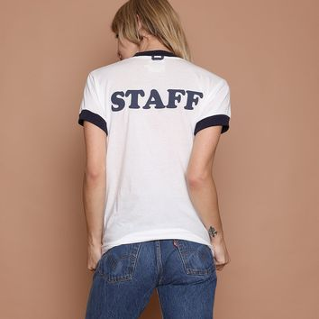 Camp Staff Ringer Tee