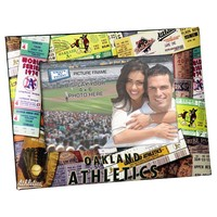 Oakland Athletics 4'' x 6'' Ticket Collage Picture Frame (Oas Team)
