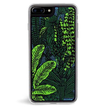 Jungle Embroidered iPhone 7/8 Plus Case