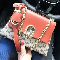 Michael Kors MK Retro Hot Sale Women Shopping Bag Canvas Handbag Tote Crossbody Satchel Shoulder Bag