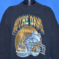 90s Notre Dame Sweatshirt Extra-Large