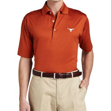 University of Texas Longhorn Gameday Polo College Shirt, Orange, Size: