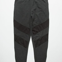Valor Induction Mens Jogger Pants Black/Grey  In Sizes