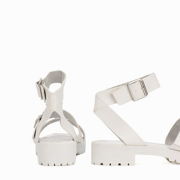 Chunky Strap Sandal, New Look