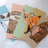 Woodsy Bookmarks - Eco-friendly Set of 5