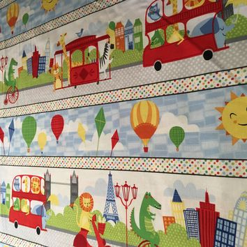 Big City Friends by Carolyn Weiderhold for Wilmington Prints Fabrics  - 1/2 yd