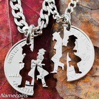 Cowboy and Cowgirl Necklaces