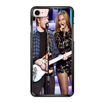 Ed Sheeran And Beyonce 2 iPhone 7 Case