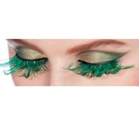 Fairy Green Eyelashes