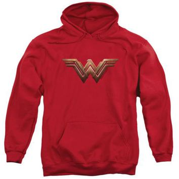 Wonder Woman Movie Logo DC Comics Hoodie