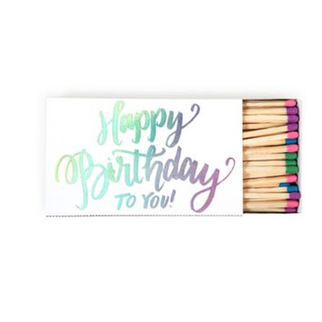 Match Box, Happy Birthday To You!