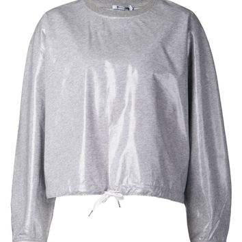 T By Alexander Wang drawstring sweatshirt