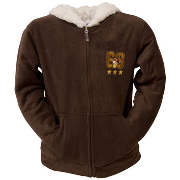 Winnie The Pooh - Tigger Original Shield Juniors Zip Hoodie