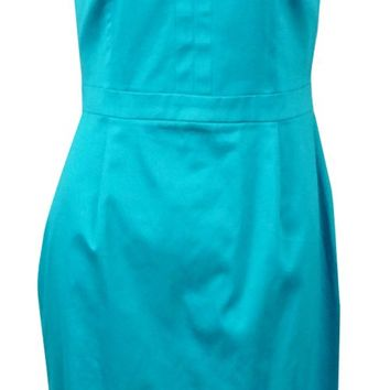 Calvin Klein Women's Keyhole Halter Sheath Dress