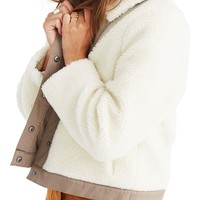 Madewell Portland Faux Shearling Jacket | Nordstrom