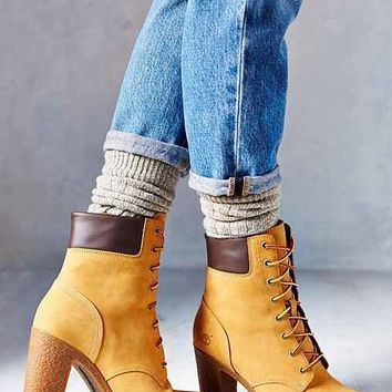 Timberland Glancy Wheat Heeled Boot