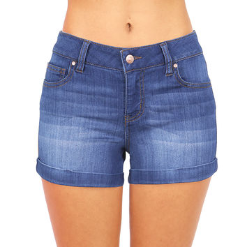 Infinite Stretch Denim Shorts