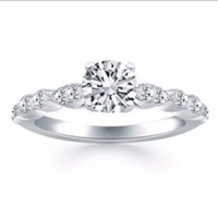 Fancy Shaped Diamond Engagement Ring Mounting