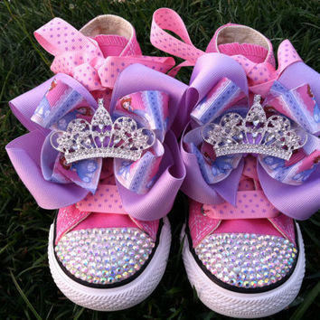 PRINCESS SOFIA SHOES - Sofia the First - Sofia Party - Costume - Swarovski  Crystals - 7b75092dbe