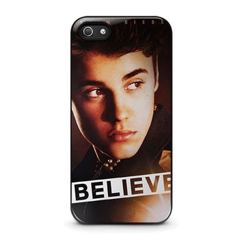 justin bieber iphone 5 5s se case cover  number 1