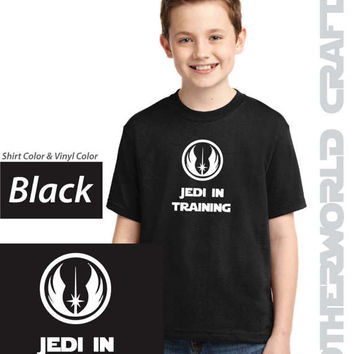 JEDI IN TRAINING - Youth Shirt - Star Wars