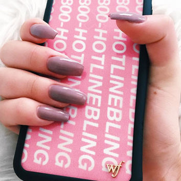 Wildflower Hotline Bling iPhone 6/6S Case