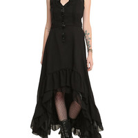 Jawbreaker Black Victorian Dress