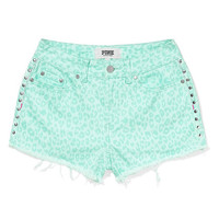 High Rise Denim Short - PINK - Victoria's Secret