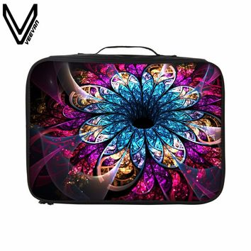 VEEVANV 2017 New Design Multicolor Flower Travel Bags For Women Casual Custom Travel Luggage Waterproof Portable Travel Totes