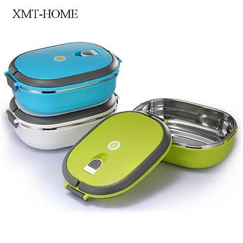 XMT-HOME thermos lunch box food containers children's thermal bento box for lunch single/double layers