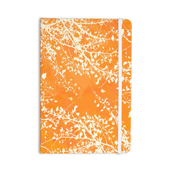 "Iris Lehnhardt ""Twigs Silhouette Orange"" Tangerine Everything Notebook"