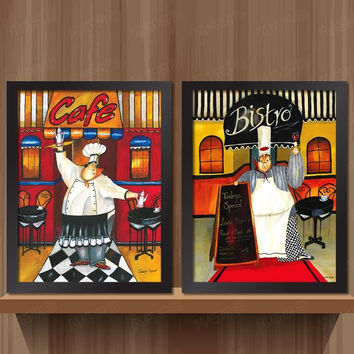 Wood Framed Canvas Pop Art Posters Hipster Wall Decor 50 Shades Of Chef Kitchen For