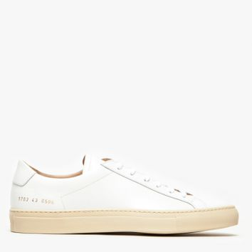 Common Projects Original Vintage Low in White