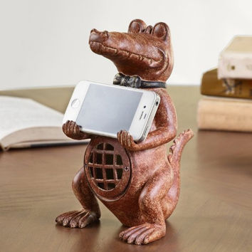SPI Resin Alligator Cellphone Holder [Wireless Phone Accessory]