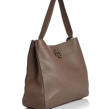 Tory Burch McGraw Leather Hobo Bag | Bloomingdales's