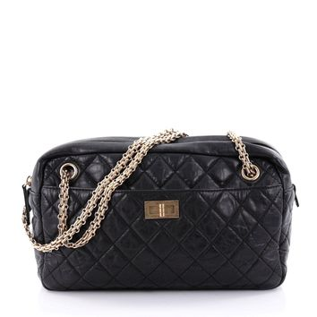 Chanel Reissue Camera Bag Quilted Aged Calfskin Medium