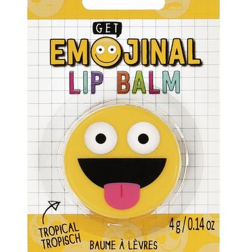 Get Emojinal Lip Balm - Emoji Shaped Container!