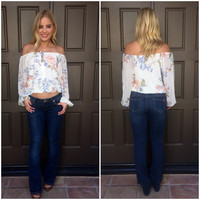 Blossom Off Shoulder Blouse