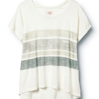 Sketched Stripe Tee - QUIKSILVER