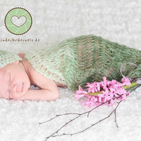 Baby Cocoon and Hat Baby Hat Crochet Cocoon Photo by Iovelycrochet