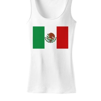 Mexican Flag Womens Tank Top