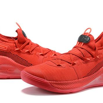 Under Armour Curry 6 - Red