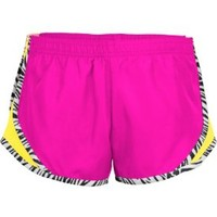 Soffe Girls' Zebra Pipe Team Shorty Shorts - Dick's Sporting Goods