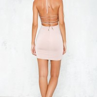 Party Guru Dress Blush