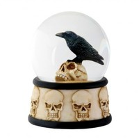 """""""Raven on The Water"""" Water Globe by Summit Collection"""