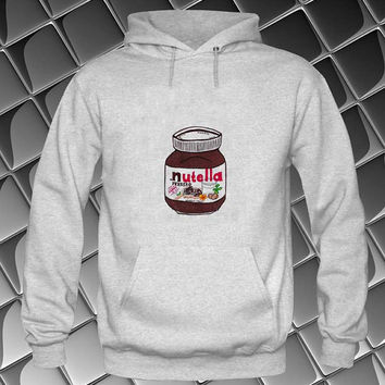 nutella Hoodies Hoodie Sweatshirt Sweater white and beauty variant color Unisex size
