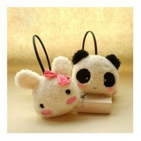 Cute and Lovely Panda and Rabbit Earmuff For Female China Wholesale - Sammydress.com